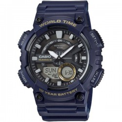 Casio aeq-110w-2avdf Analog-Digital Combination Youth Watch