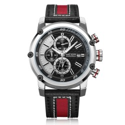 Megir Wrist Watch for Men ML2079GBK-1