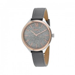 Fossil Casual Watch For Men Analog Leather bq3324
