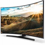 Curved UHD TVs